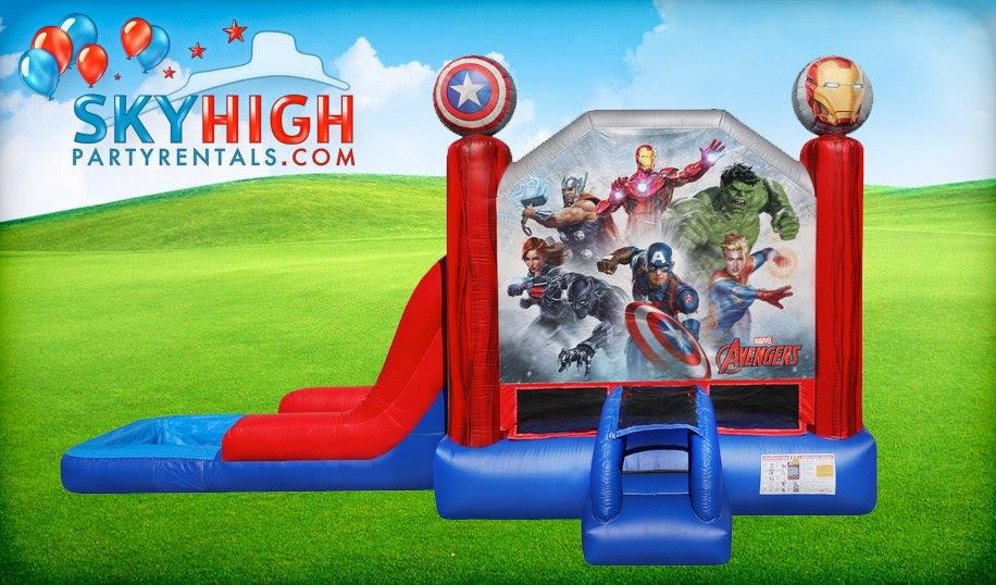 Captain Marvel Bounce Houses