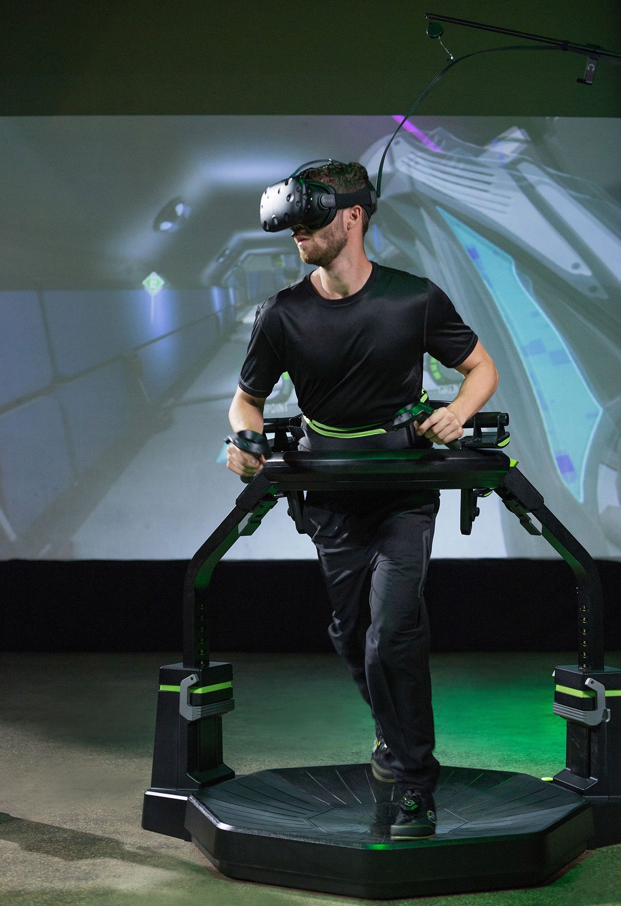 VR Event Rental Omni Directional Treadmill