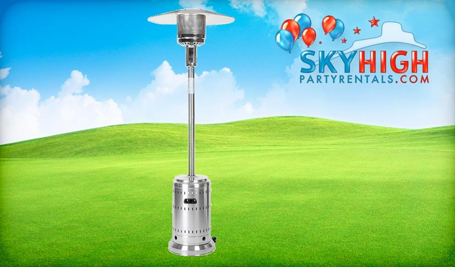 Houston Outdoor Patio Heater Rentals with Propane