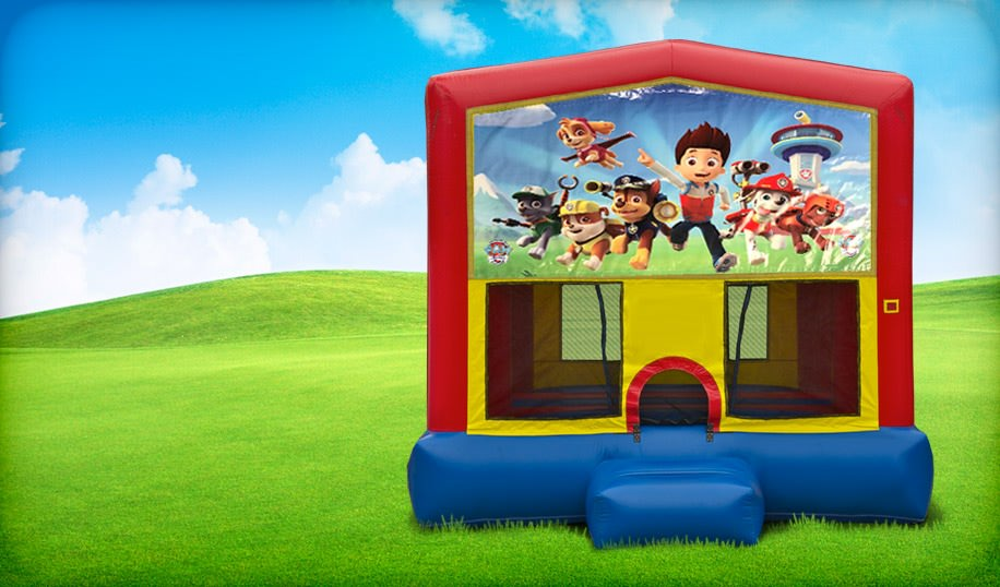 13 x 13 Paw Patrol Inflatable Bounce House