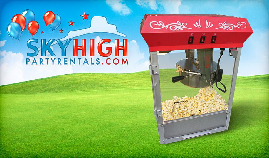 popcorn machine rentals Houston