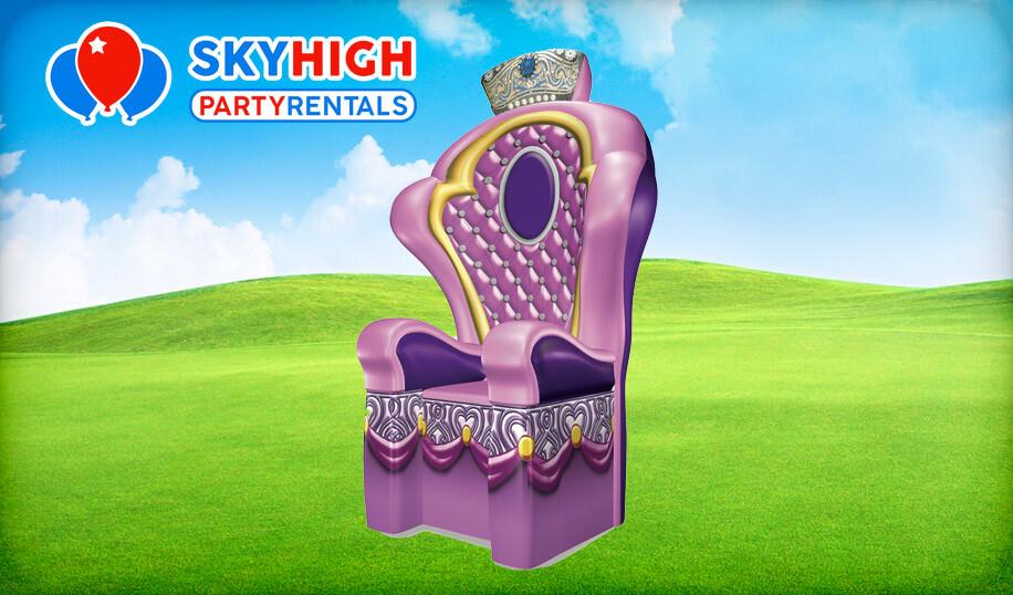 Princess Throne Chair