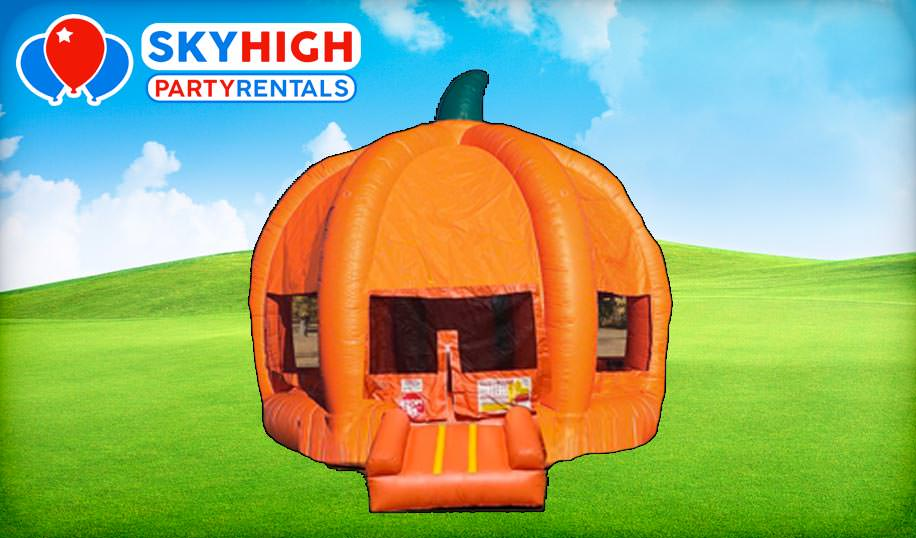 Pumpkin Bounce House Fall Rentals