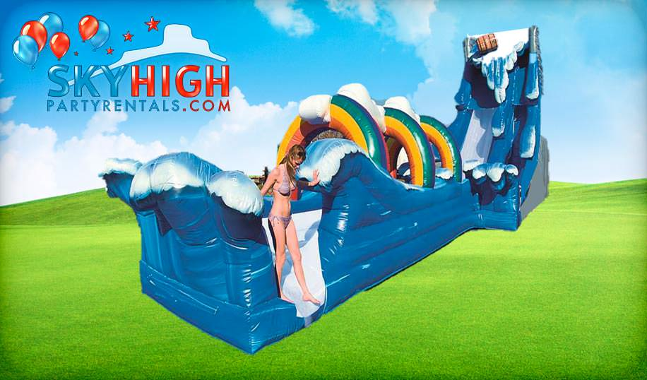 Niagra Falls Water Slide Party Rentals