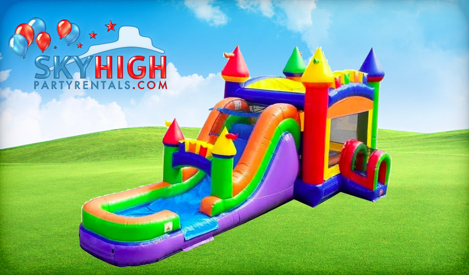 Bounce House Combo Inflatable Rental