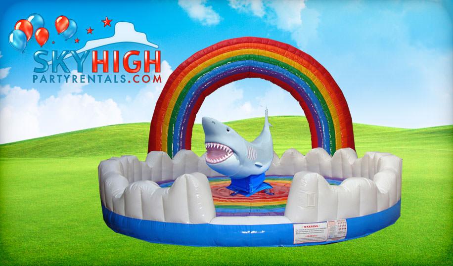 Rainbow Mechanical Shark