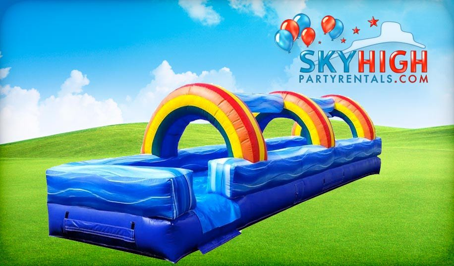 Rainbow Slip N Slide Rentals Houston