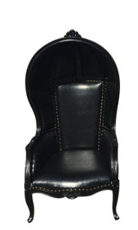 Queen Chair - Elegant Black
