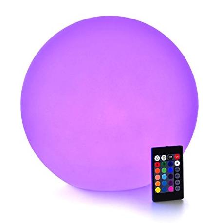 """9"""" LED illuminated orbs - waterproof"""