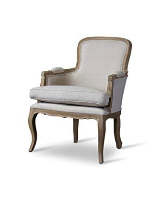 Natural Linen French Chair Rentals