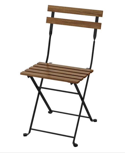 Houston Metal Wooden Folding Chair Rentals