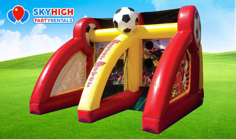 Soccer Fever Inflatable Rental Houston TX