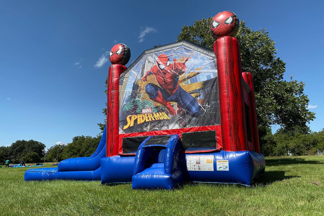 Spider-Man Bounce House Slide