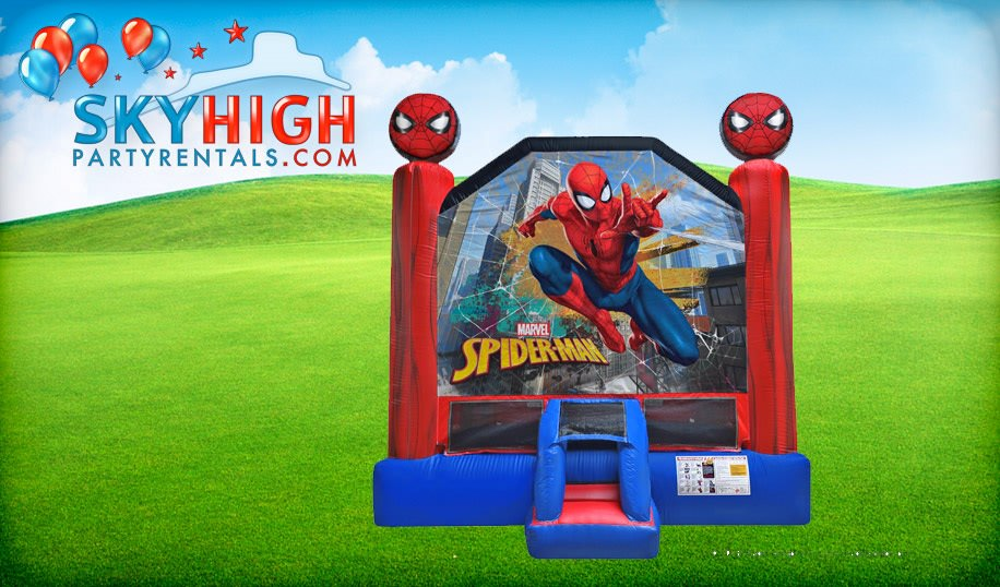 Bounce House Spiderman