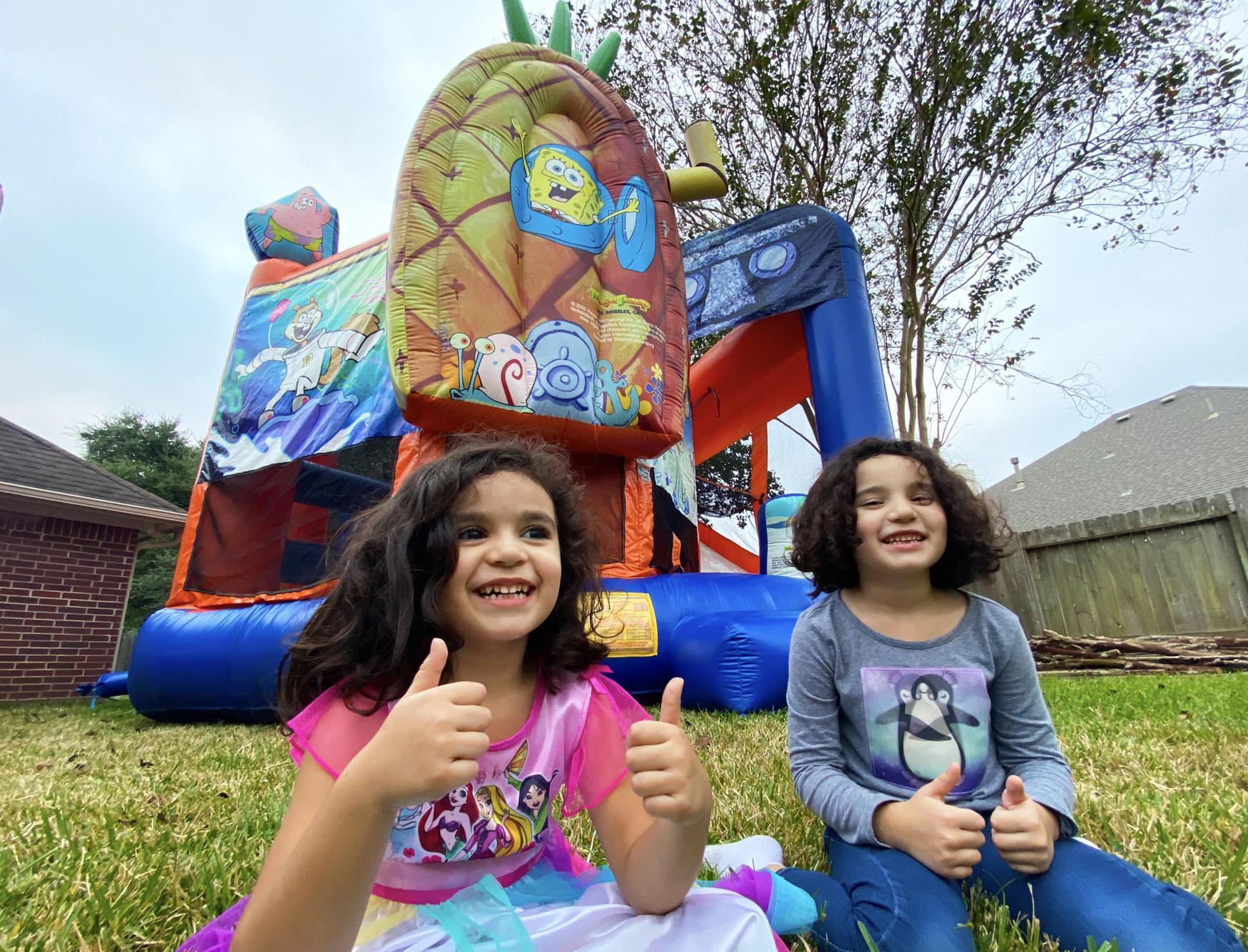 Spongebob Bounce House Childrens Party Rentals