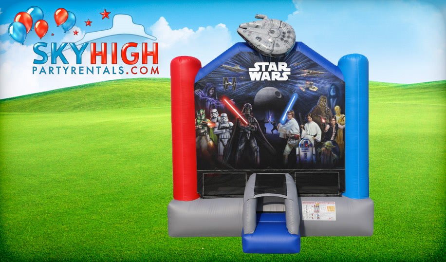 Star Wars Moonwalk Rentals