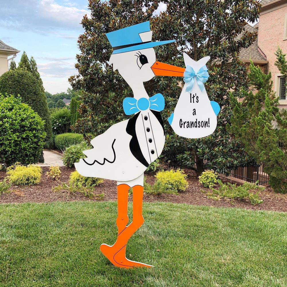 Stork Signs Delivered