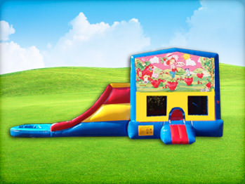 Strawberry Shortcake Jump House and Slide