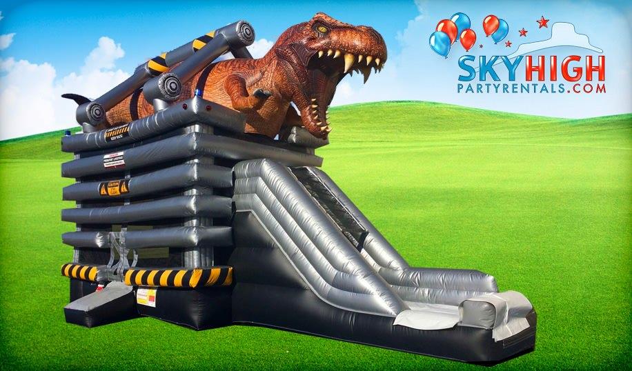 T-Rex Dinosaur Bounce House