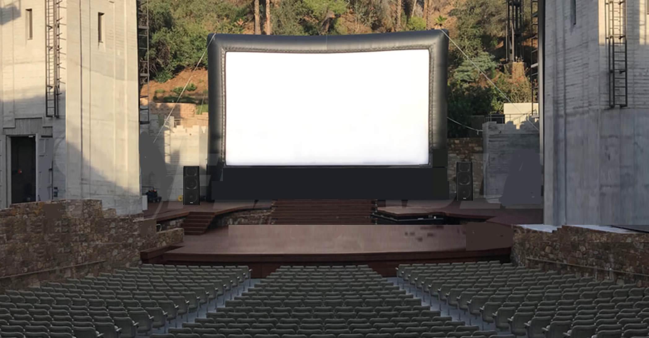 Houston Texas Outdoor Movie Screening