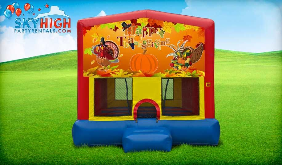 Thanksgiving Bounce House Rentals