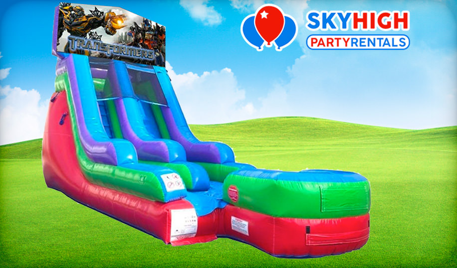 15ft Transformers Retro Wet/Dry Slide