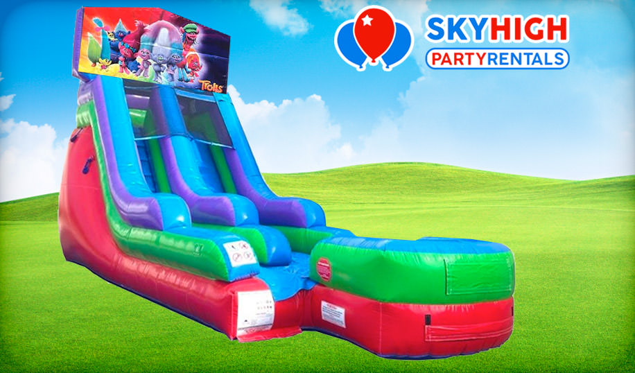 15ft Retro Wet/Dry Slide
