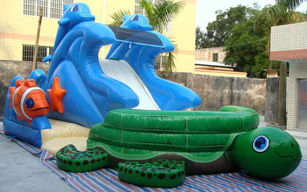 Beach Water Slide