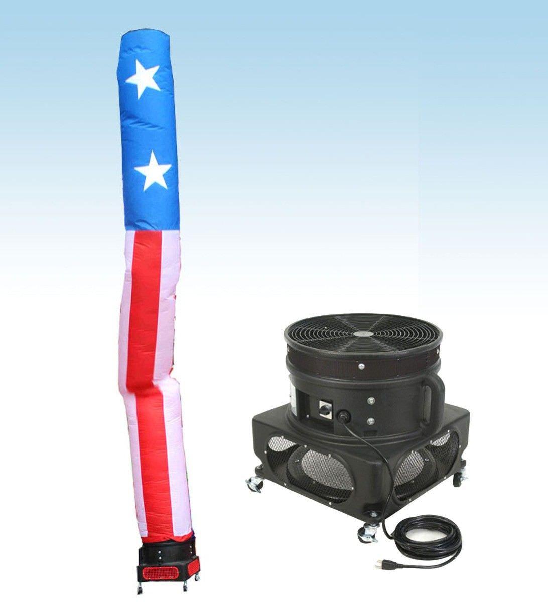 US Flag Tube Man