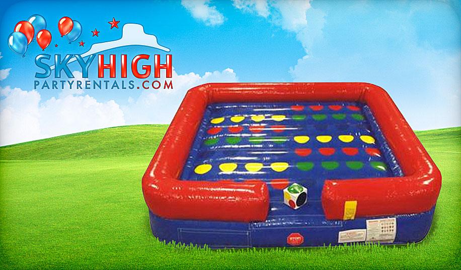 giant inflatable twister rental houston