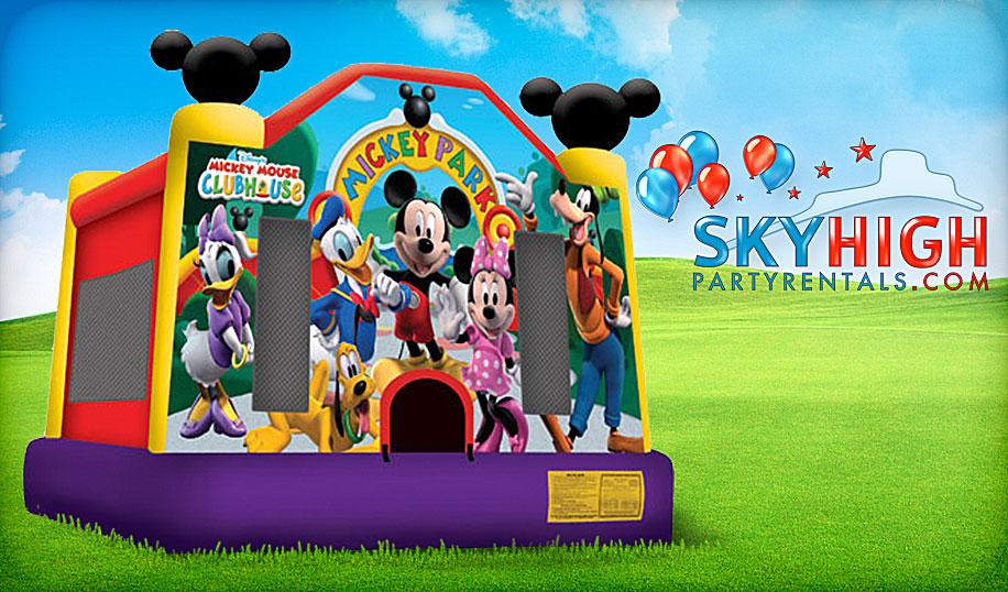 mickey minnie mouse inflatable rental houston