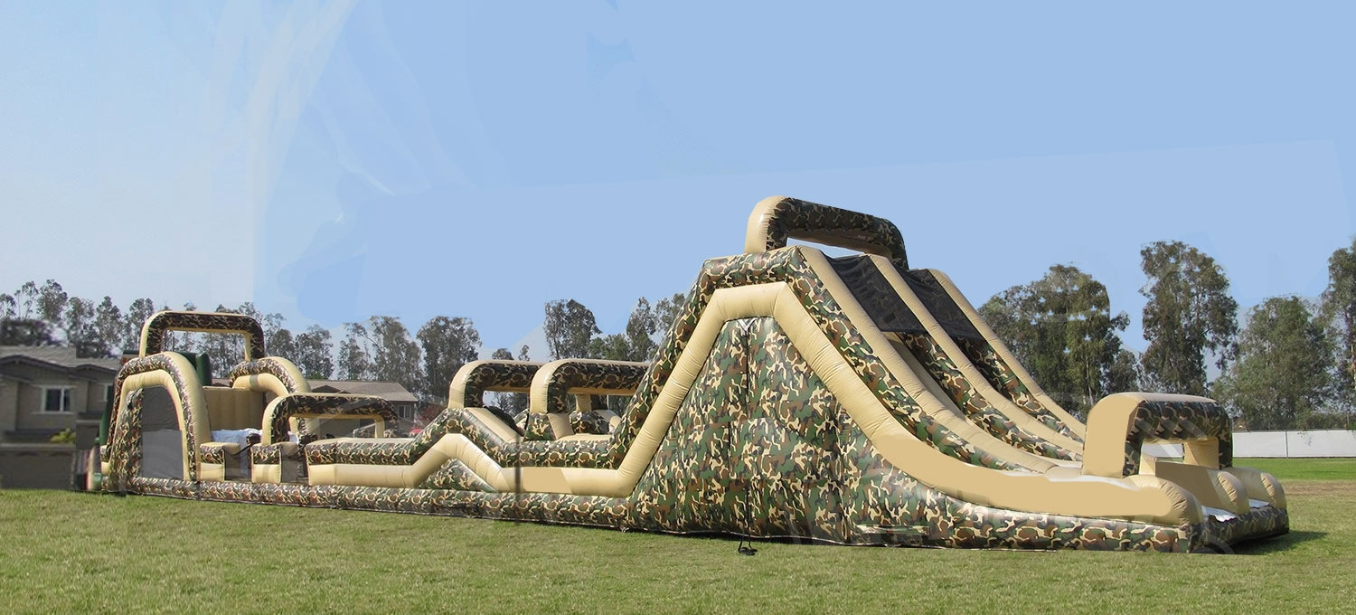 100ft Boot Camp Military Obstacle
