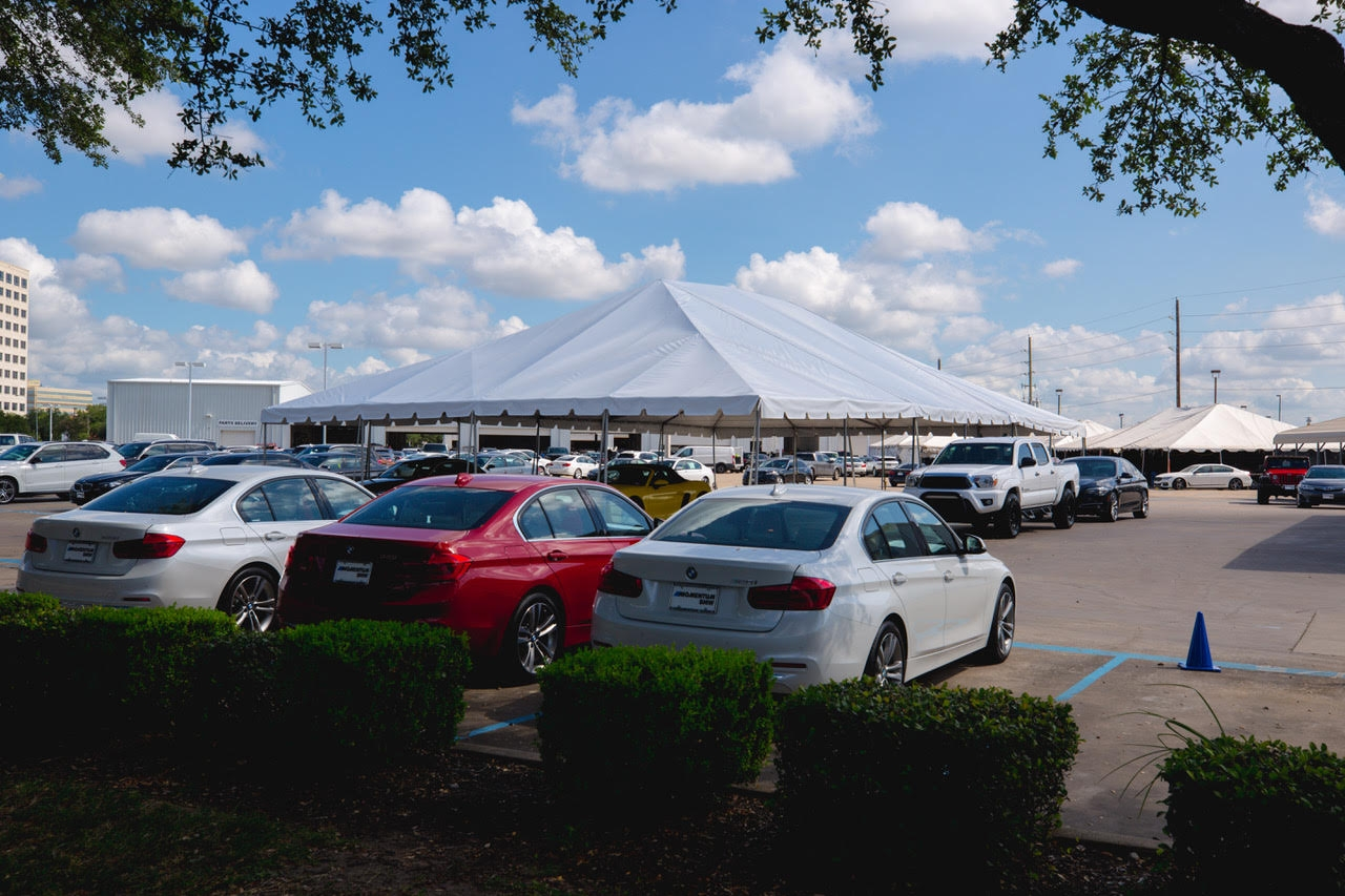 40ft x40ft Frame Tent Rental Houston