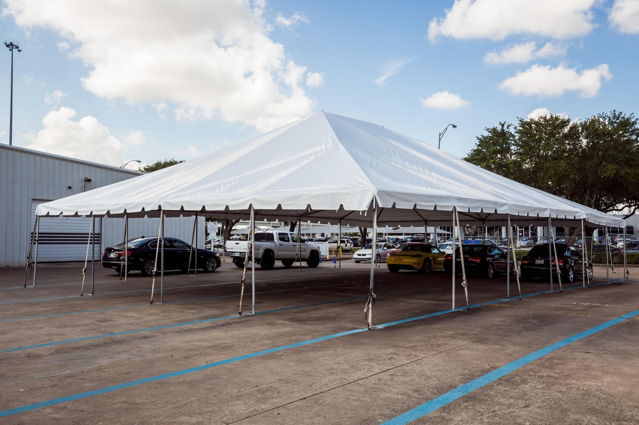 40x40 Frame Tent Rental Houston