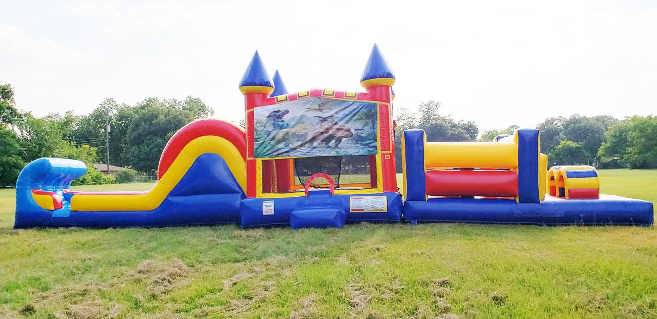 Dinosaur Huge Obstacle Course