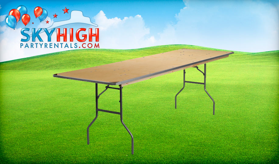 8ft Banquet Table Rental