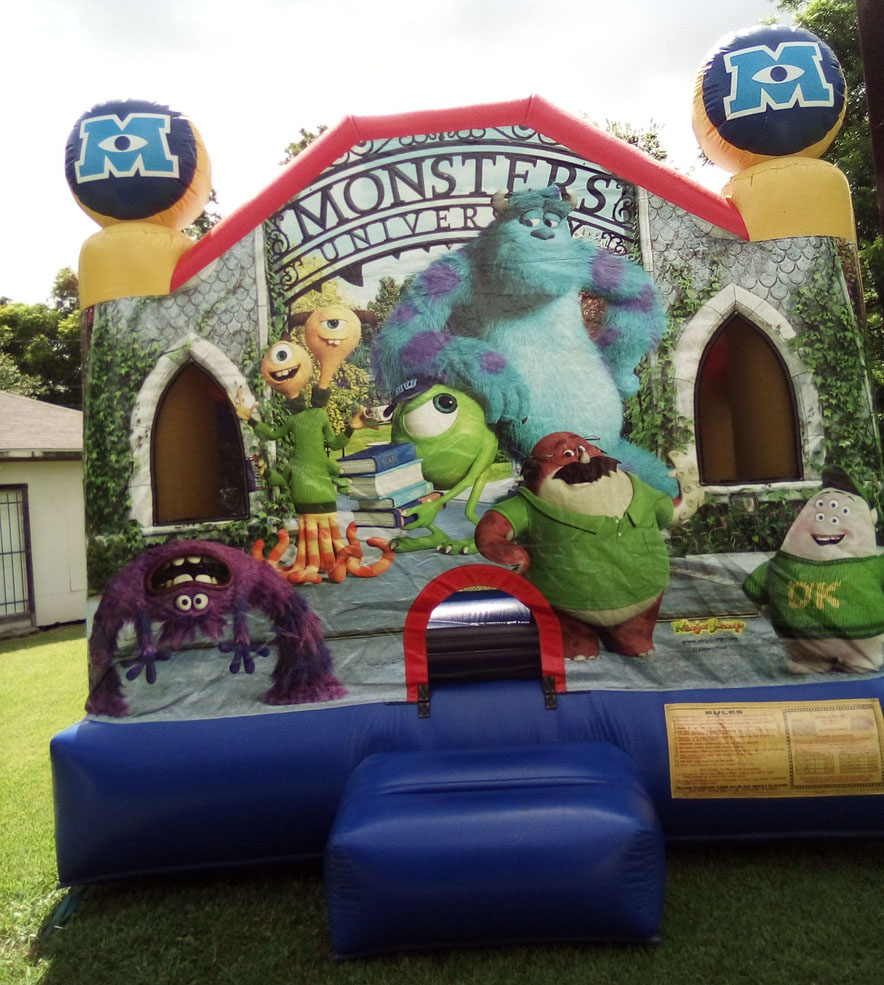 Monsters University inflatable
