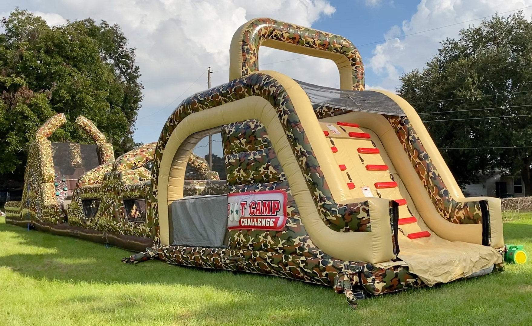 Boot Camp Obstacle Inflatabl