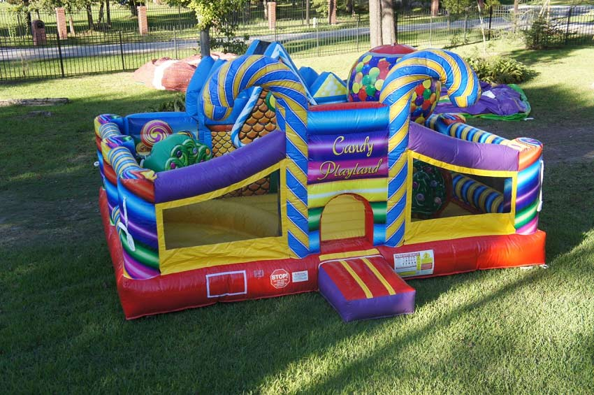 Candy Themed Bounce House