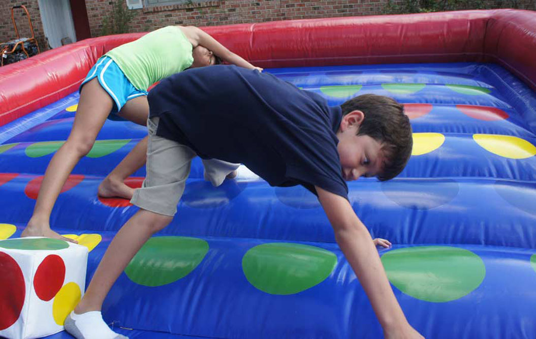 Austin inflatable twister game