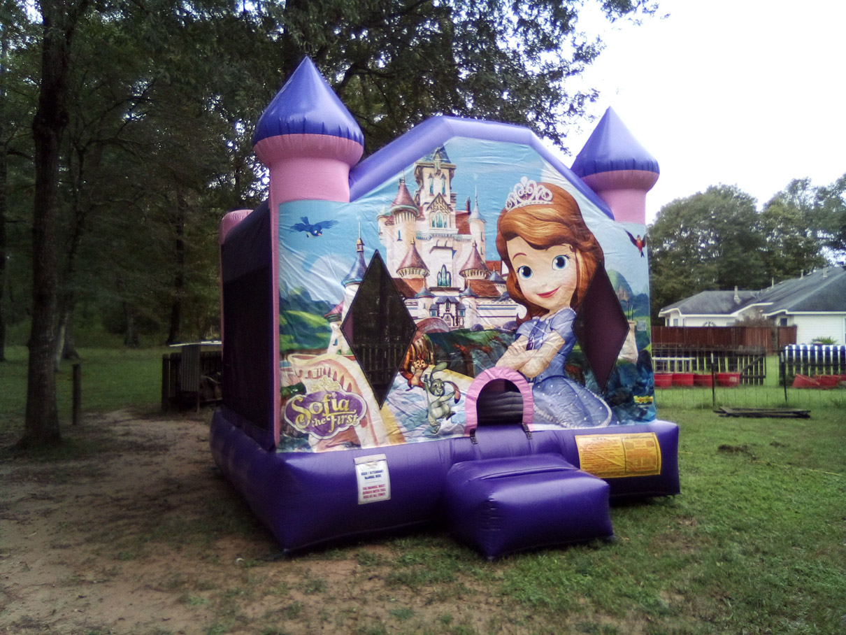 Sofia the First Bounce House