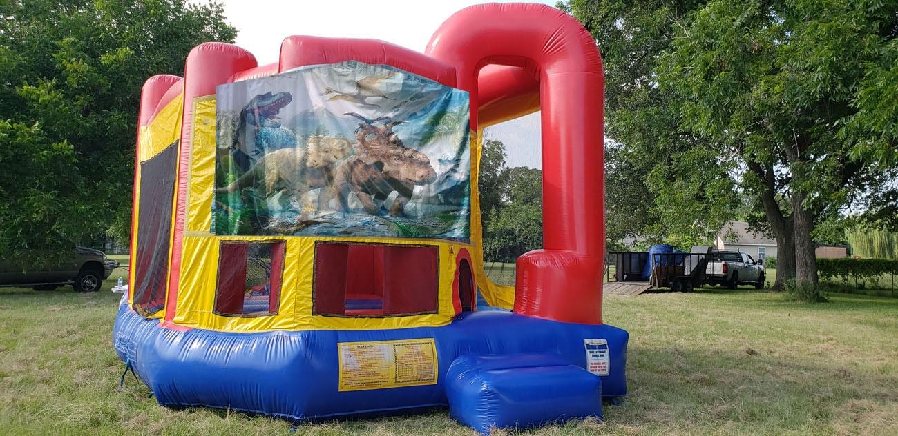 Dinosaur 4in1 Bounce House