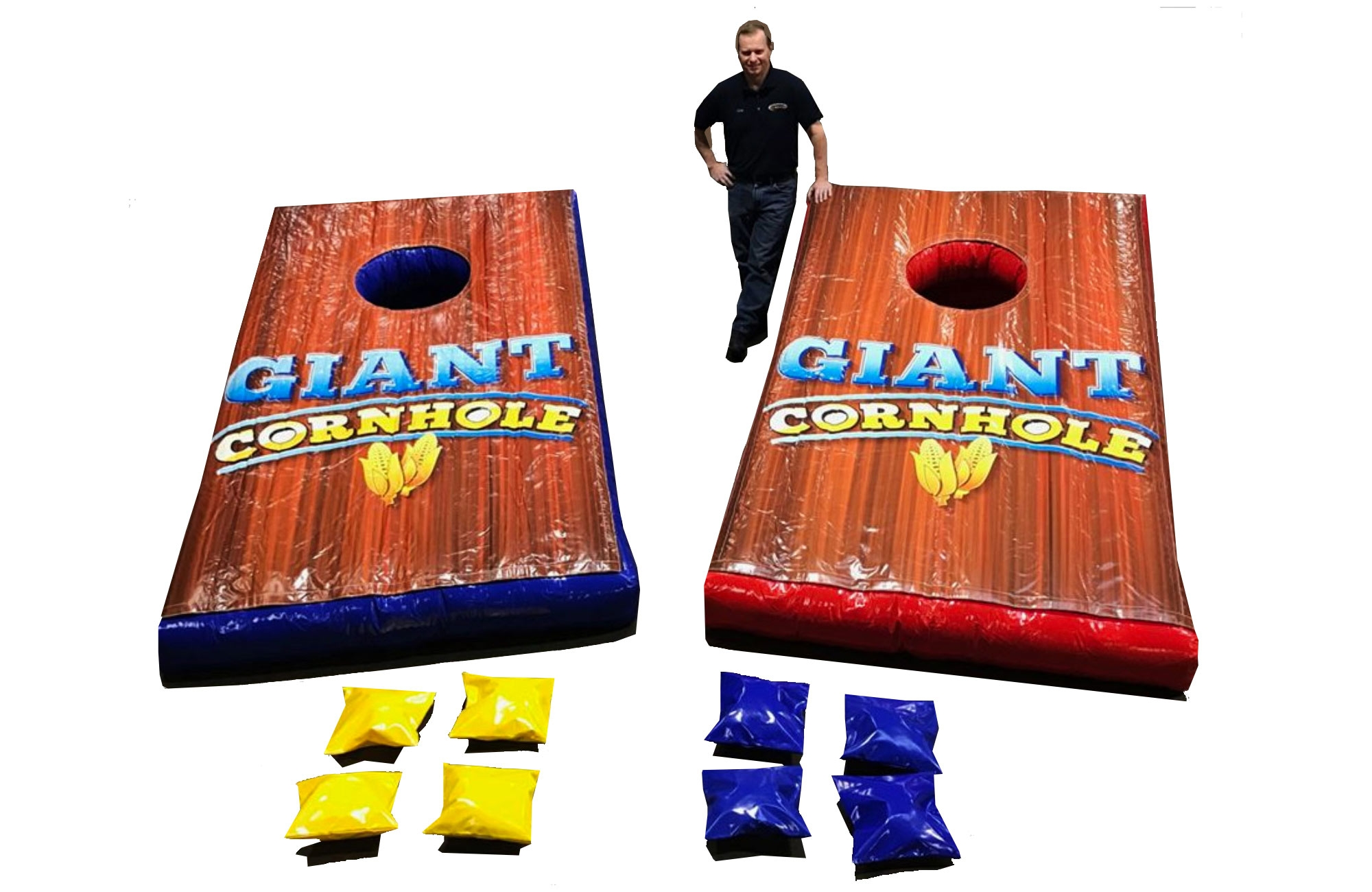 Giant Inflatable Corn Hole Game For Rent
