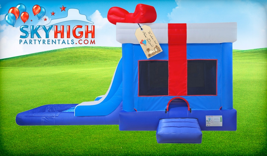 Birthday Themed Water Slide Inflatable Rentals Houston