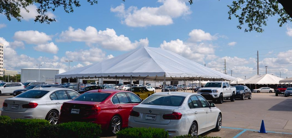 Houston Rental 40x40 Tent