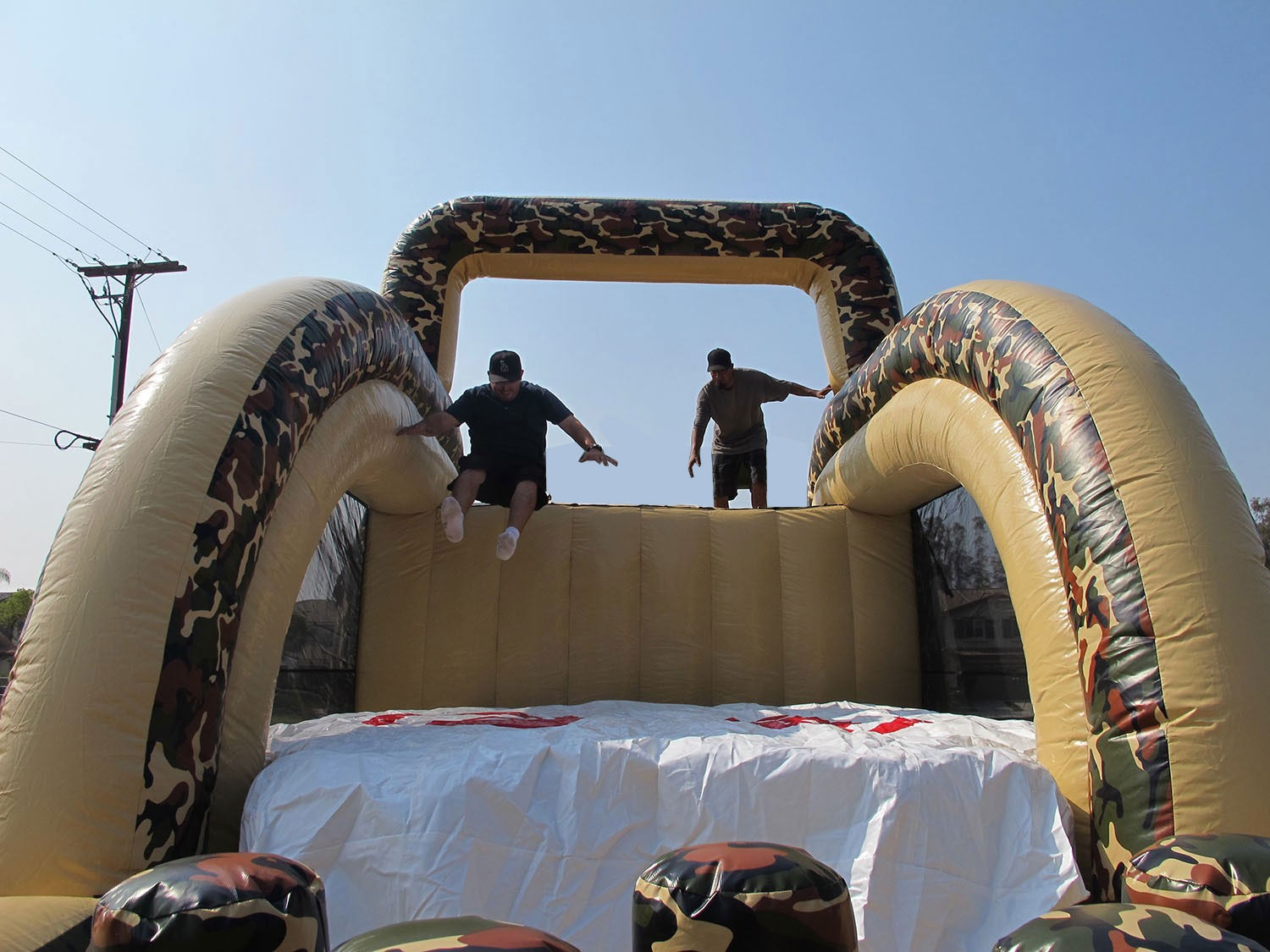 Leap of Courage Military Obstacle