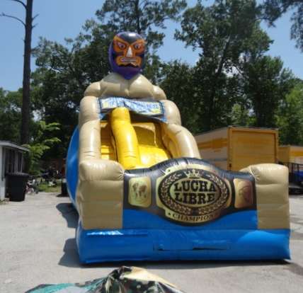 Wrestler Party Slides