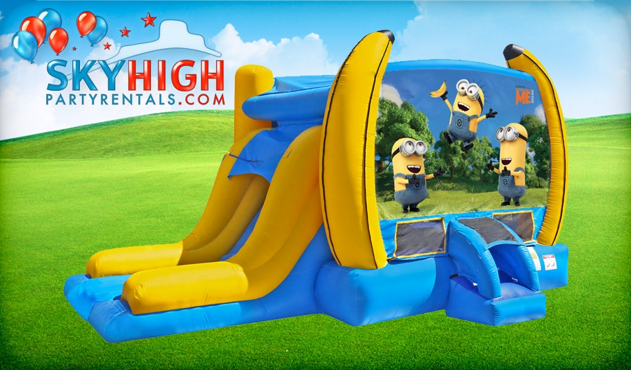 Despicable Me Minion Bounce House For Hire