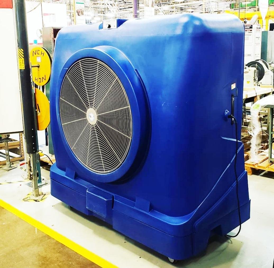 Evaporative Cooling Fans Warehouses