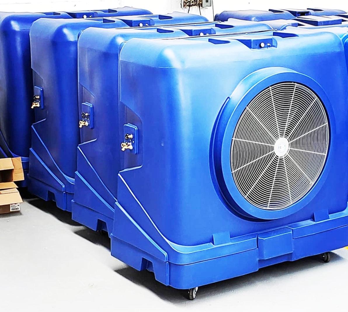 Warehouse Cooling Evaporative Rentals Houston